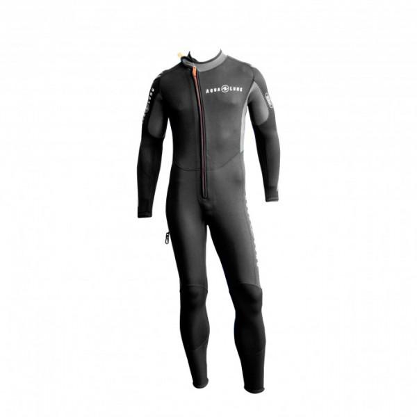 Aqualung Dive Range Jumpsuit 5,5mm Tauchanzug Herren Frontansicht