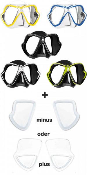 Mares X- Vision Tauchermaske New2014 mit optischen Gläsern